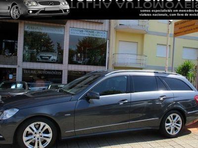 usado Mercedes E250 CDI BE Avantgarde CX. AUT