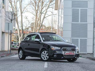 usado Audi A1 TDI105cv Sport Tecto Panorâmico