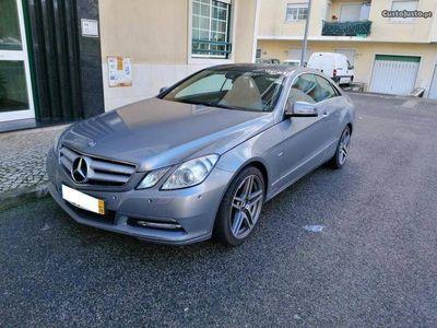usado Mercedes E220 Cdi Coupe Avantgarde