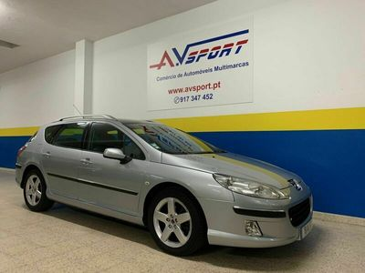 usado Peugeot 407 SW 2.0 HDI GRIFFE CAIXA AUTOMATICA