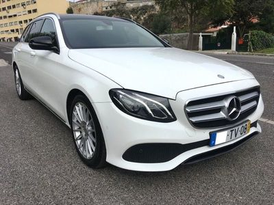 usado Mercedes E220 Station AMG PackNight