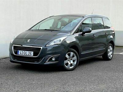 usado Peugeot 5008 1.6 Hdi Allurre 120cv (7Lug)
