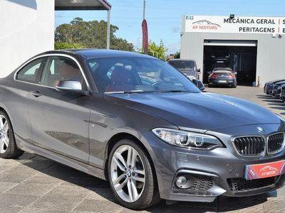 gebraucht BMW 218 d Coupe Pack M