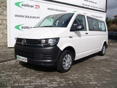 usado VW Transporter Autocarro 2.0 TDi (102 cv) (9 lug) Longa