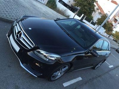 usado Mercedes E300 bluetec hybridViatura de serviço