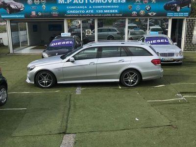 usado Mercedes E250 BLUETEC EDITION E cx 9 G Tronic GPS AMG