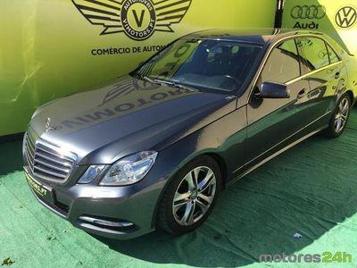 usado Mercedes E250 ClasseCDi Avantgarde BlueEf. Auto. (204cv) (4p)