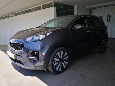 usado Kia Sportage 17D 2WD 6M Cinza Escuro