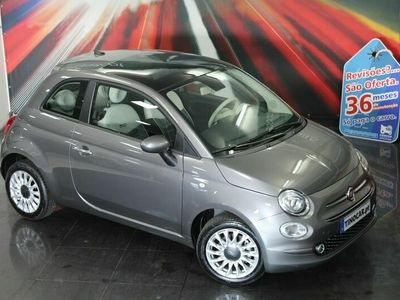 usado Fiat 500 1.2 Lounge Auto Teto - NOVO - GAR. ATÉ 2024