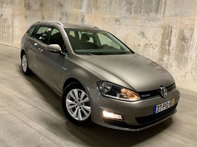 usado VW Golf Variant 1.6 TDI Confortline BlueMotion
