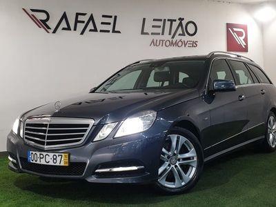 usado Mercedes E250 BlueEfficiency