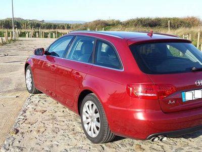 usado Audi A4 2.0 143cv Pele+GPS -