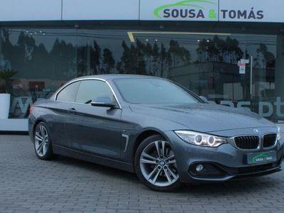 used BMW 420 Série 4 d Cabrio Line Sport Aut. (184cv) (2p)