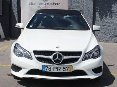 used Mercedes E220 CABRIO