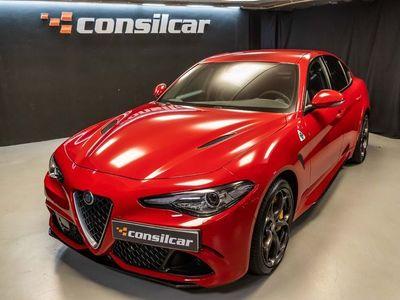 usado Alfa Romeo Giulia Quadrifoglio 2.9 V6 BI-TURBO Harman Kardon