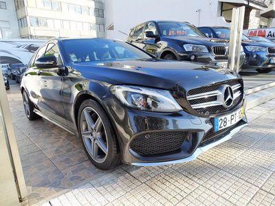 usado Mercedes C300 BLUETEC HYBRID AMG LINE
