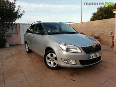 usado Skoda Fabia Break 1.2 TDi Family