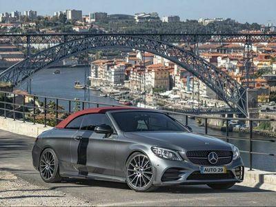 usado Mercedes C220 d AMG Line Aut.