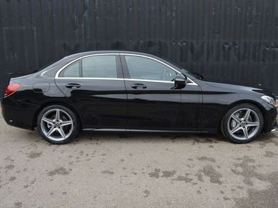 used Mercedes C200 D Auto 9G Tronic AMG