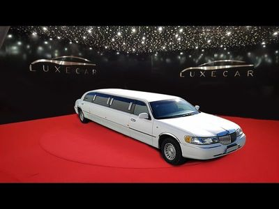usado Lincoln Town Car Limousine