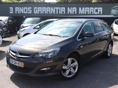 usado Opel Astra Sports Tourer 1.6 CDTi Executive GPS