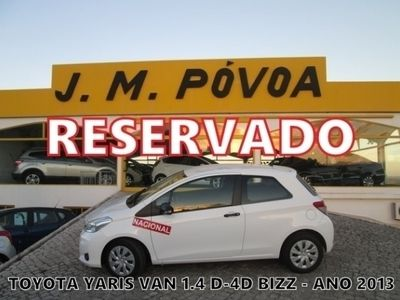 usado Toyota Yaris 1.4 D-4D AC BIZZ