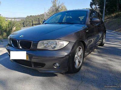 usado BMW 120 d aut nacional