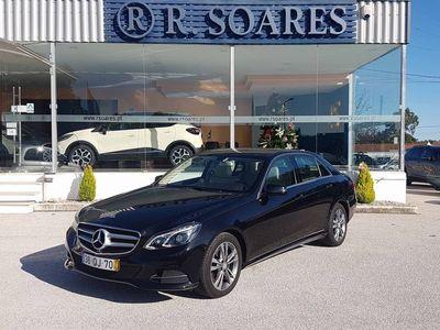 usado Mercedes E250 CDI ELEGANCE AVANTGARDE (204CV)