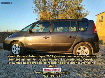 usado Renault Espace authentique