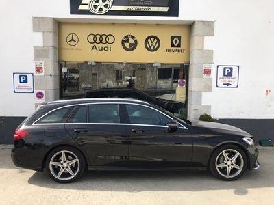 gebraucht Mercedes C220 D AMG Line Auto