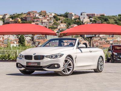 begagnad BMW 420 d Cabrio Line Sport