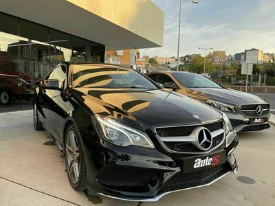usado Mercedes E220 BLUETEC AMG AUTO