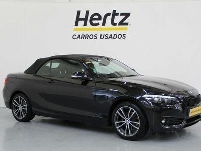 usado BMW 218 Série 2 Cabrio d Advantage 2.0 150cv