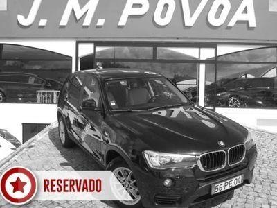 brugt BMW X3 20 d xDrive