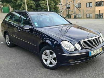usado Mercedes E220 CDI Avantegarde