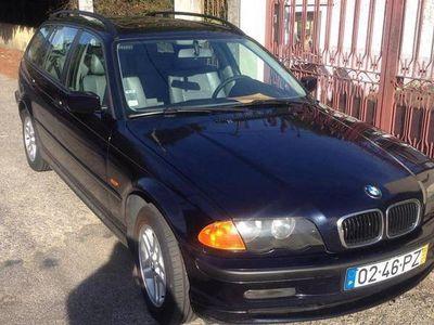 usado BMW 320 d touring nacional -