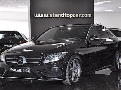usado Mercedes C220 d AMG Line 7G-Tronic