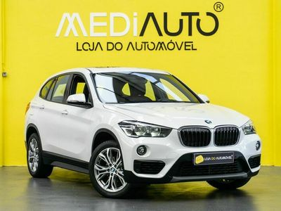 usado BMW X1 SDRIVE 16D Tecto Panorâmico