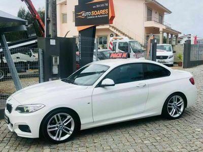 usado BMW 220 d coupe pack M