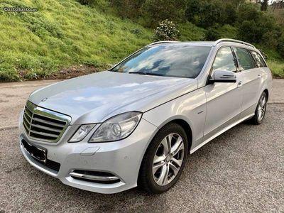 usado Mercedes E250 AVANTGARDE 204cv