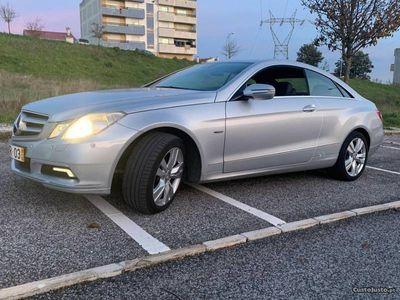 usado Mercedes E250 Coupe Avantgarde cdi