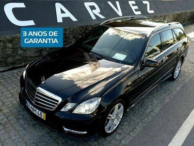 usado Mercedes E250 CDI 204 CV AVANTGARDE AMG