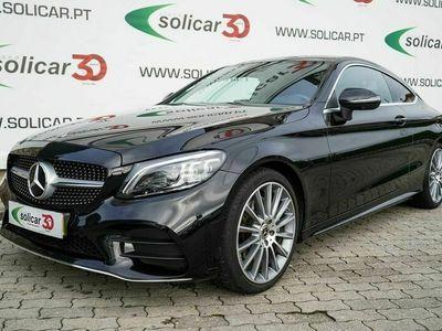 usado Mercedes C200 Coupé AMG Line Cx. Aut. 9 Vel. (184 CV)