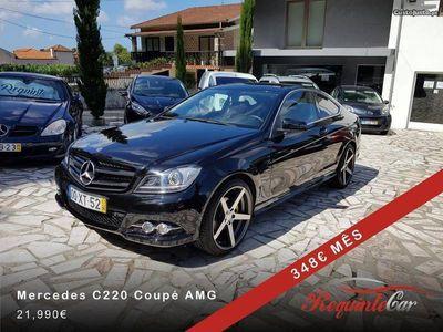 "usado Mercedes C220 CDi Coupé AMG 19"""