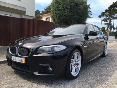 usado BMW 520 Pack M • GPS Profissional • Leds • Suspensão Pneumática • Estofos Desportivos e Pele • Full Extras •