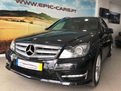 usado Mercedes C220 CDI Avangarde AMG (5P)