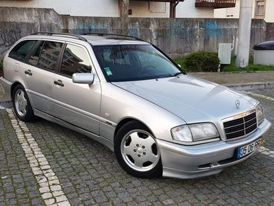 usado Mercedes C220 CDI Esprit Teto abrir