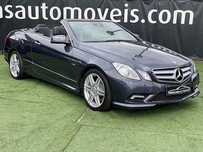 usado Mercedes E220 CDI AVANTEGARDE BE CABRIO