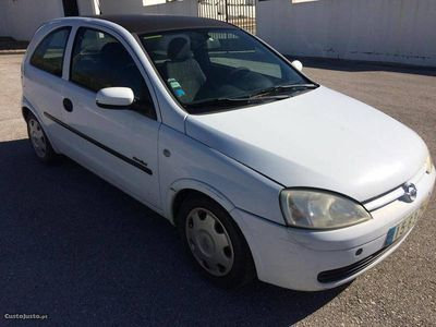 używany Opel Corsa C 1.7 Di C/Avaria