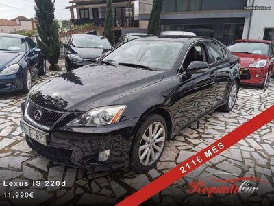 usado Lexus IS220d 177cv Manual